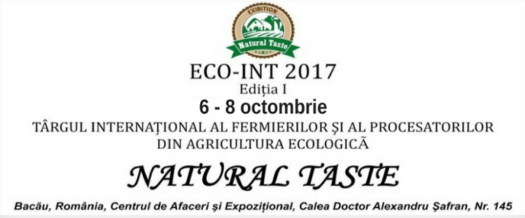 Targul fermierilor ecologici Bacau