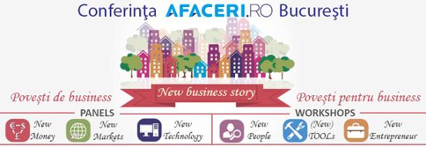 Cover Conferinta New Business Story - Afaceri.ro Bucuresti