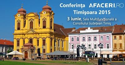 Conferinta Afaceri.ro Timisoara - banner mai mic