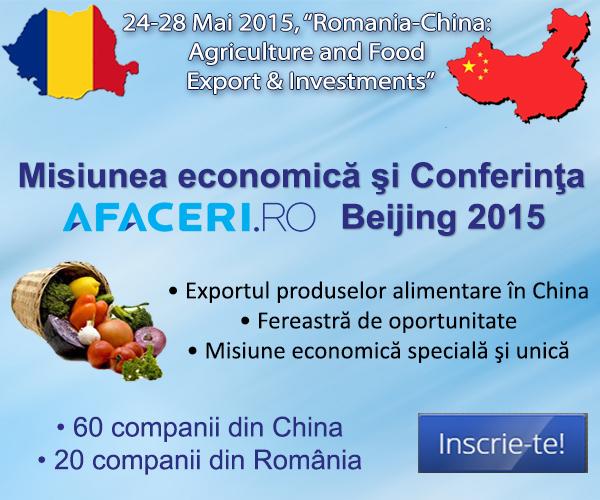 Misiune economica Conferinta Beijing  Afaceri.ro