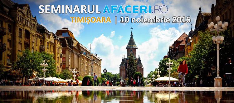 Afaceri.ro Timisoara 2016